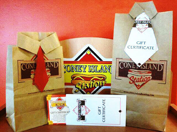 Coney Island Gift Certificates